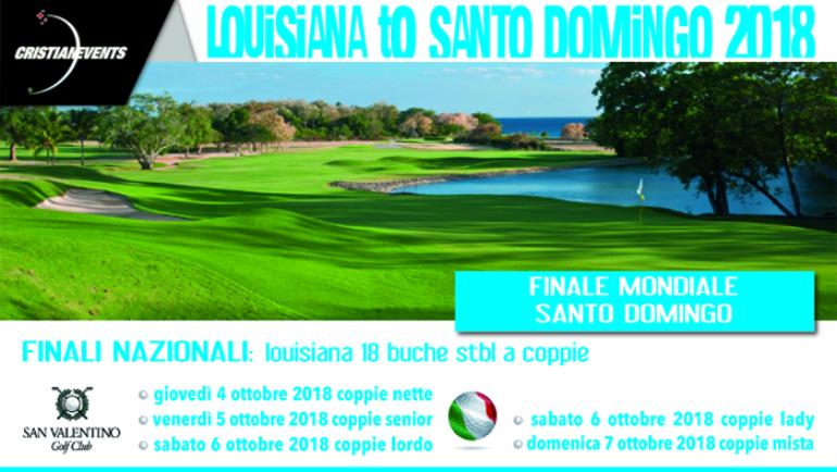LOUISIANA TO SANTO DOMINGO by Cristian Events