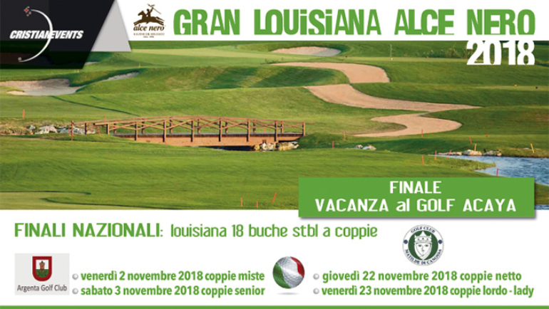GRAN LOUISIANA ALCENERO 9 BUCHE by Cristian Events