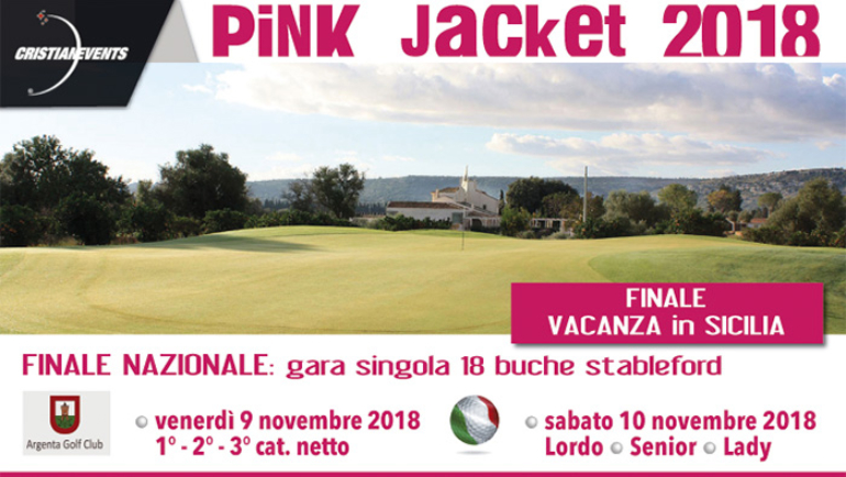 PINK JACKET by Cristian Events 18 buche 3 cat