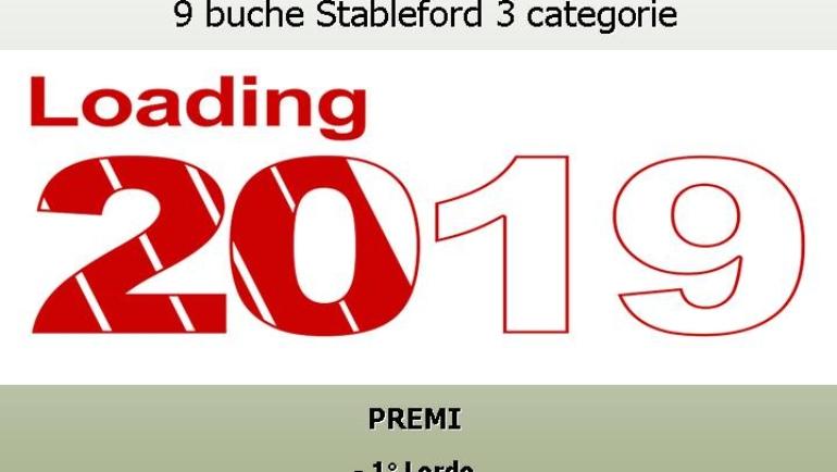 LE PRIME 9 BUCHE – 9 buche Stableford 3 categorie