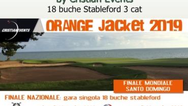 ORANGE JACKET by Cristian Events – 18buche Stbl 3 cat.