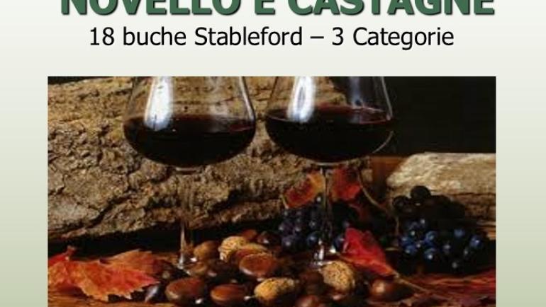 NOVELLO E CASTAGNE – 18 buche Stbl 3 cat.