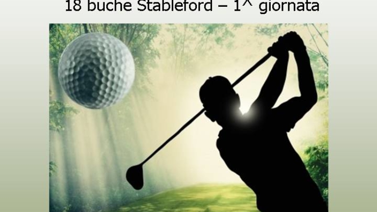MATCH PLAY 2019 18 buche Stbl 1^ tappa
