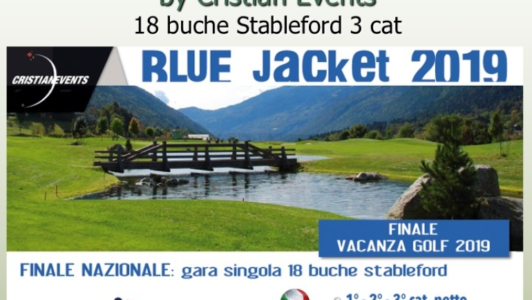 BLUE JACKET by Cristian Events 18 buche Stbl 3 cat.