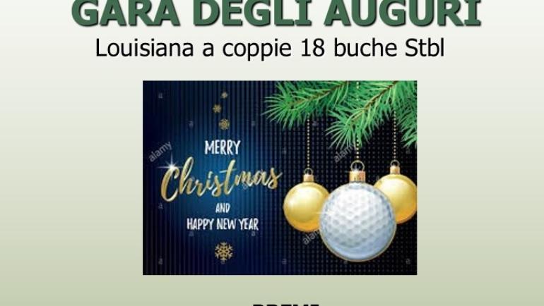 GARA DEGLI AUGURI – Louisiana 18 buche Stbl