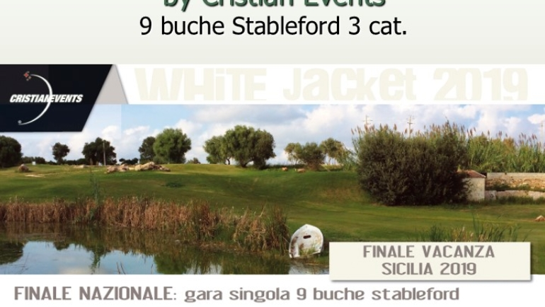 WHITE JACKET by Cristian Events – 9 buche Stbl 3 cat.