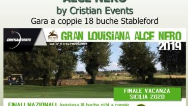 GRAN LOUISIANA ALCE NERO by Cristian Events
