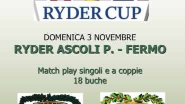 RYDER AP – FM Match play singolo e Louisiana