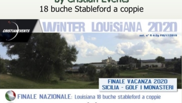 WINTER LOUISIANA by Cristian Events – 18 buche stbl a coppie