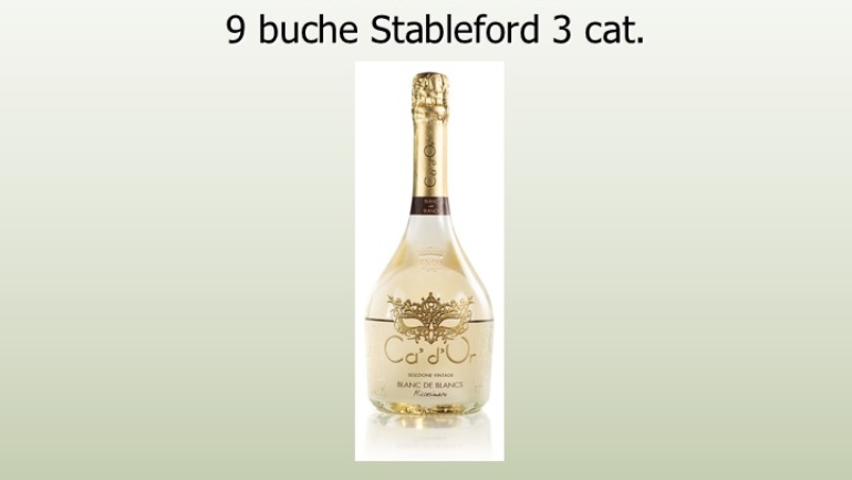 CA' D'OR BLANC DE BLANCS 9 buche stbl 3 cat.