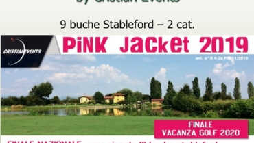 PINK JACKET by Cristian Events – 9 buche stbl 2 cat.
