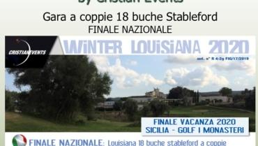 WINTER LOUISIANA by Cristian Events – Gara a coppie 18 buche stbl