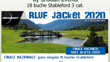 BLUE JACKET by Cristian Events – 18 buche stbl 3 cat.