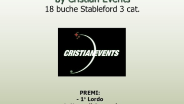 BLACK JACKET by Cristian Events – 18 buche stbl 3 cat.