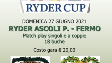 RYDER CUP – GARA A SQUADRE – 18 BUCHE