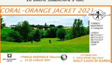 CRISTIAN EVENTS ORANGE JACKETS 2021 – 18 BUCHE 3 CATEGORIE STBL